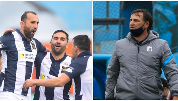 Carlos Bustos llegó a Alianza Lima en 2021. (Foto: Liga 1)