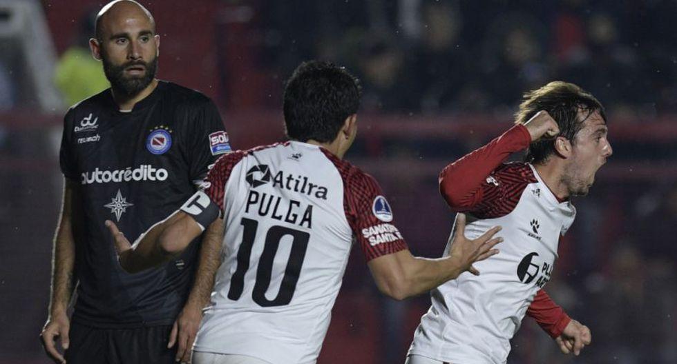 Colón eliminó en penales a Argentinos Jrs. y avanzó a cuartos de Copa Sudamericana (Foto: Conmebol Sudamericana)