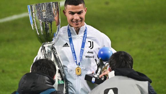 Es el título número 29 de la carrera de Cristiano Ronaldo a nivel de clubes. (Foto: AFP)