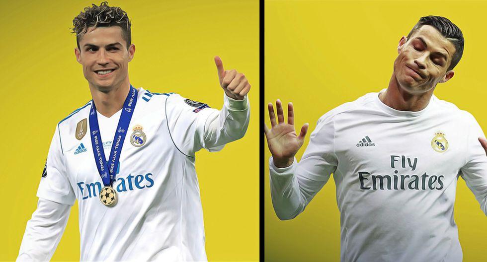 Cristiano Ronaldo fue elegido mejor jugador de la Serie A en su primera temporada con la Juventus. (Diseño: Christian Marlow)