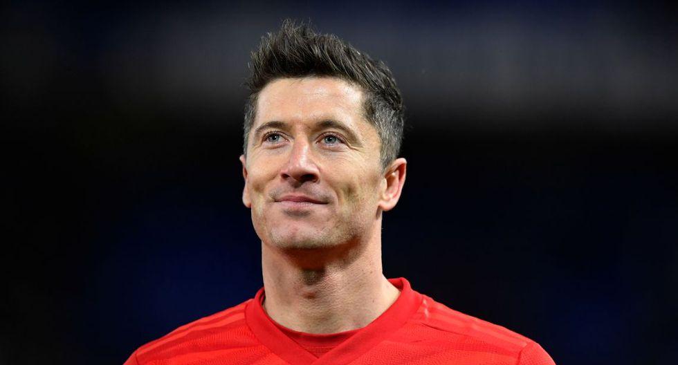 Robert Lewandowski / Bayern Munich. (Foto: Agencias)
