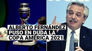 Todo en vilo: presidente de Argentina pone en duda la realización de la Copa América