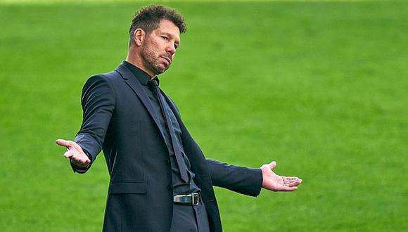 Diego Simeone alcanzó dos final de Champions League con el Atlético de Madrid. (Getty)