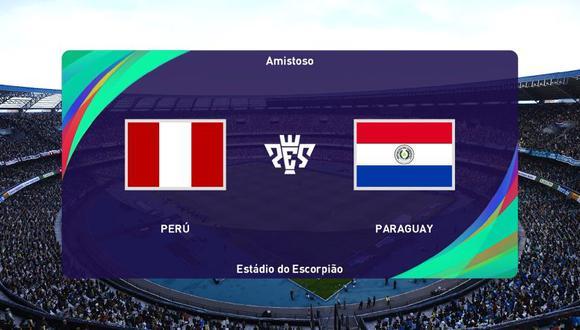 ¡Perú - Paraguay en PES 2021! Así quedó la simulación del partido para Qatar 2022