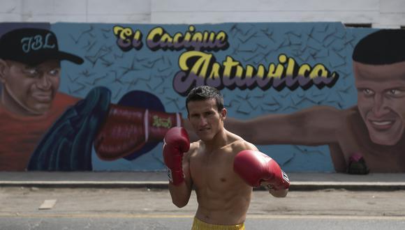 Ricardo Astuvilca peleará por el título mundial de la AMB el 21 de julio. (Renzo Salazar)