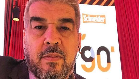 Periodista argentino 'Chavo' Fucks tiene coronavirus, está internado y tiene neumonía. (Foto: Difusión)