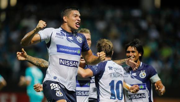 Sol de América venció 1-0 a Goias por fase 1 de Copa Sudamericana 2020 en el Olímpico Pedro Ludovico Teixeira. (AFP)