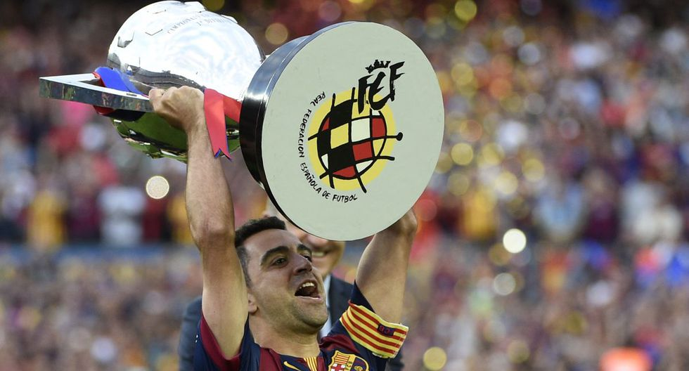 Xavi Hernández, 65 millones de euros. (Getty)