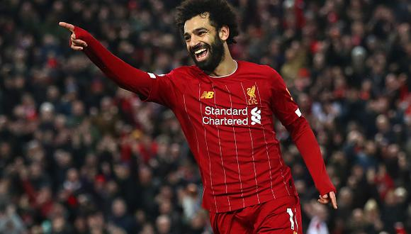 Mohamed Salah llegó al Liverpool procedente de Roma en la temporada 2017. (Getty)