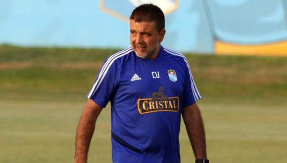 Claudio Vivas en conferencia de prensa. (Deporte al Máximo TV/YouTube).