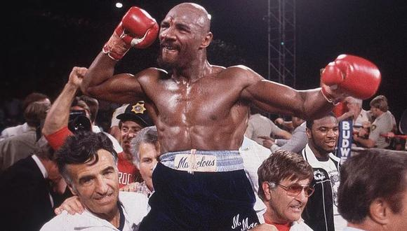 Marvin Hagler falleció a los 66 años, (Foto: Sports Illustrated)