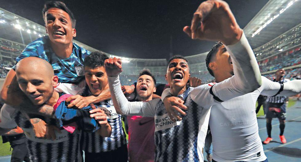 Alianza Lima celebra su pase a la final. (Giancarlo Ávila/GEC)