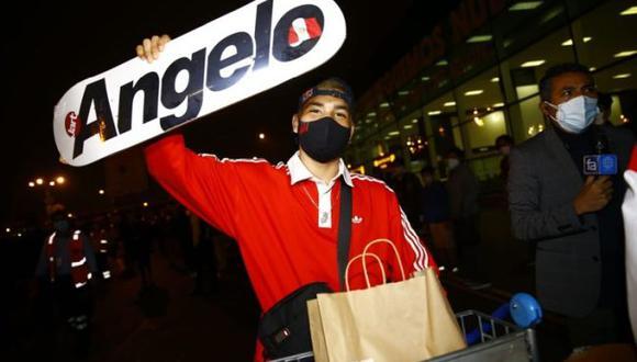 Skater Angelo Caro regresó a Perú tras quedar en quinto lugar en Tokio 2020. (Allen Gino Quintana / GEC)