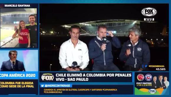 En Fox Sports Chile estaban seguros que Uruguay superaba a Perú e iba a enfrentar a la Roja en semifinales de la Copa América Brasil 2019. (Video: Fox Sports)