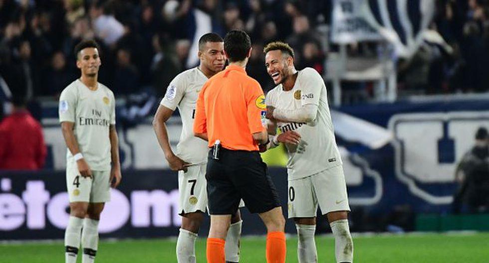 Mbappé y Neymar, compañeros y amigos en el PSG. (Foto: Getty Images)