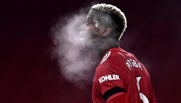 Paul Pogba llegó al Manchester United en 2016 de la Juventus de Turín. (Reuters)
