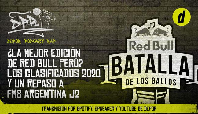 ¿La mejor edición de Red Bull Perú? Los clasificados 2020 y un repaso a FMS Argentina J2 | AUDIO
