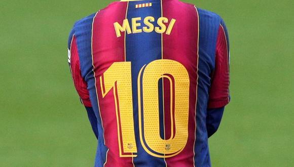 Lionel Messi utiliza la camiseta 10 del Barcelona desde la marcha de Ronaldinho en 2008. (Reuters)