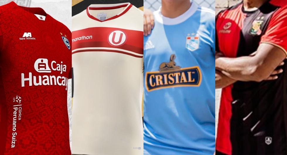 Las nuevas camisetas de los equipos de la Liga 1 (Foto: prensa del club)