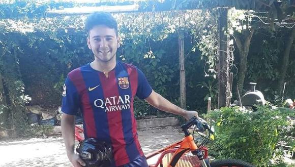 Un joven decidió hacer lo inesperado para recuperar la bicicleta que un ladrón le robó. (Foto: Alan Quintana / Facebook)