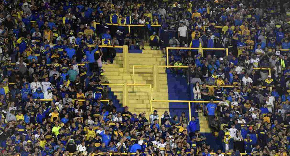 Boca Juniors fue multado por Conmebol debido a una infracción cometida en el último duelo por Copa Libertadores 2020. (Foto: AFP)
