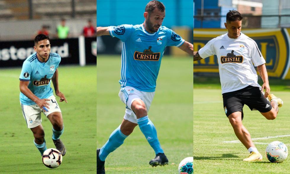 Chávez, Calcaterra y Hohberg serán titulares ante Binacional. (Fotos: Agencias)