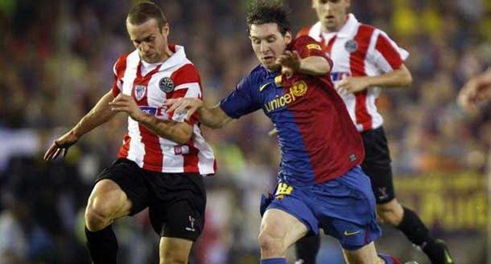 Gol en la final de la Copa del Rey 2009 ante el Athletic. (Foto: Agencias)