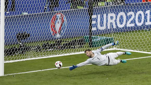 Hugo Lloris fue el capitán de Francia en el subcampeonato de la Eurocopa 2016. (Foto: AP)