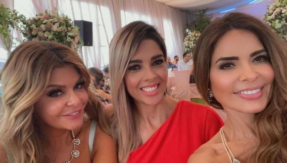 Itatí Cantoral y Gloria Trevi se convirtieron en comadres. (Foto: @itatic_oficial).