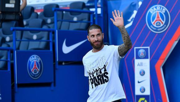 Sergio Ramos llegó al PSG en calidad de agente libre. (Getty)