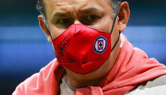 Juan Reynoso llegó a Cruz Azul esta temporada luego de su paso por el Puebla en la Liga MX (Foto: Getty Images)