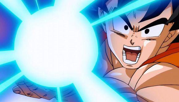 Dragon Ball Super | Goku haciendo el kamehameha (Toei)