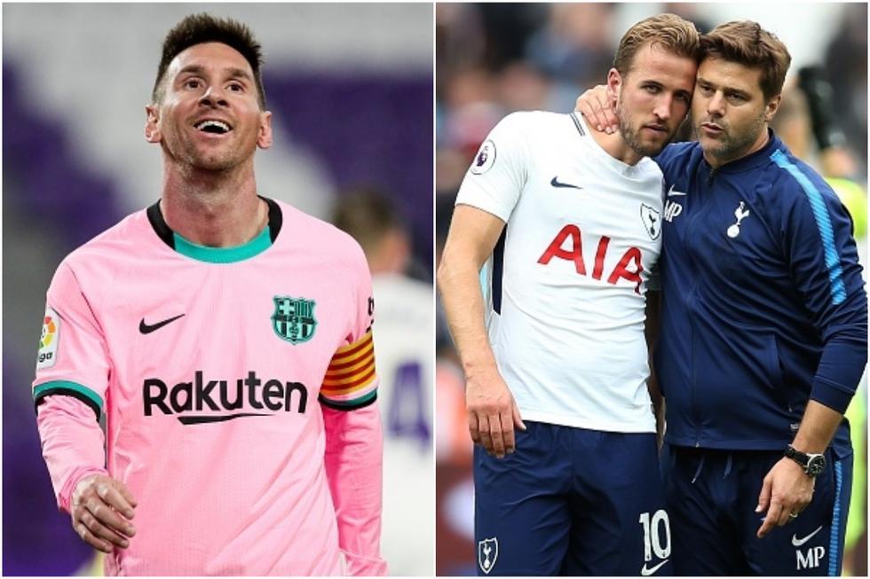El once soñado de Mauricio Pochettino para el 2021 con Lionel Messi, Harry Kane y sin Kylian Mbappé. (Getty)
