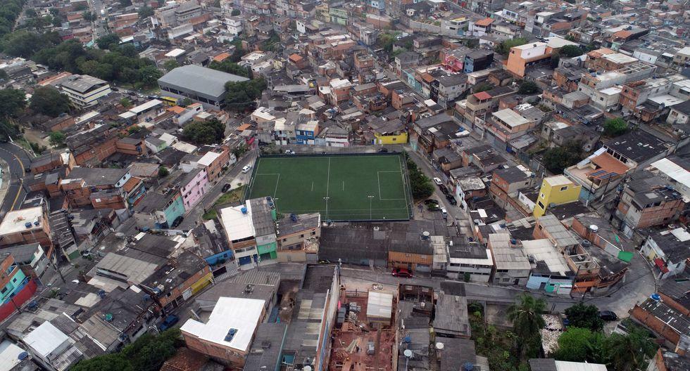 Grandes estadios de Río de Janeiro, Sao Paulo así como canchas de barrios en Brasil lucen completamente vacíos por la cuarentena. (Foto: EFE)