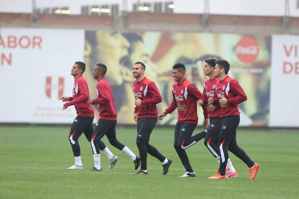 Selección Peruana: las imágenes del primer entrenamiento para los choques ante Bolivia y Ecuador. (Foto: Jesús Saucedo)