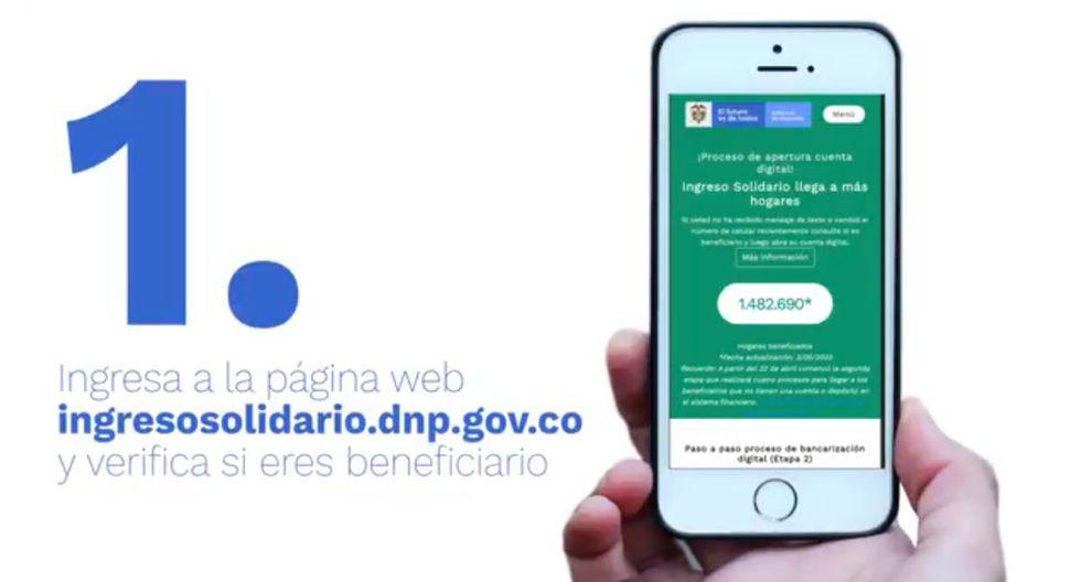Ingreso Solidario DNP, Colombia: ¿qué hacer si no me llegó el mensaje al celular para cobrar los $320.000? (Captura)