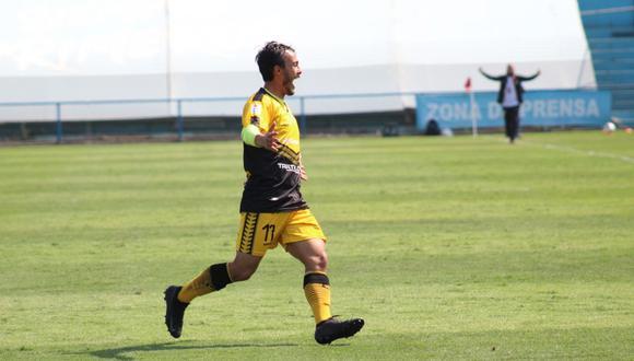 Mario Tajima anotó el único gol del partido con un golazo de tiro de libre. (Foto: Liga 1).