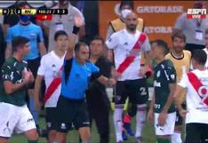 Como locos: River Plate pidió penal a Rafael Santos Borré y tuvo que intervenir el VAR [VIDEO]