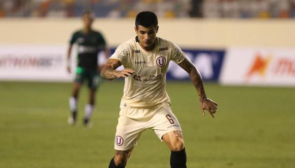 Armando Alfageme alcanzó 535 minutos en la Copa Libertadores (Foto:GEC)