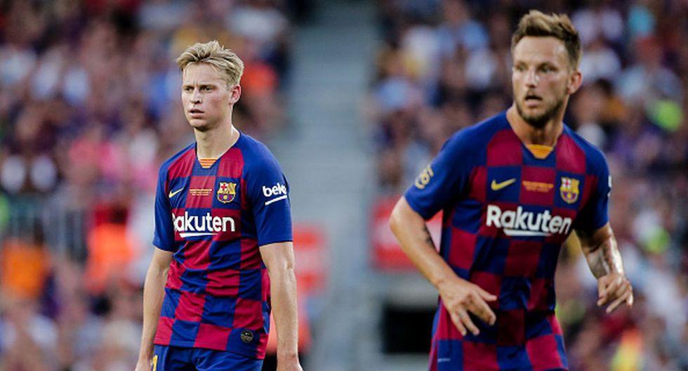 Rakitic, De Jong y Arthur se ponen a disposición del Barcelona tras el parón FIFA. (Getty)