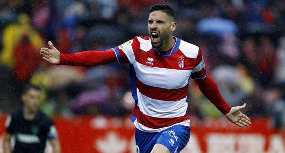 Antonio Puertas | Granada | Goles: 2. (Getty Images)