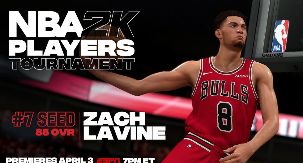 Zach Lavine. (Foto: Twitter @NBA2K)