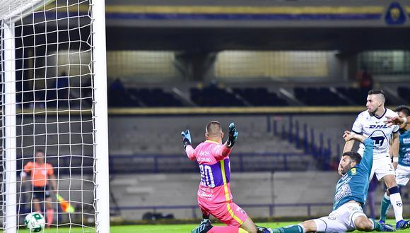El delantero argentino Emmanuel Gigliotti anotó el empate al minuto 89. (Foto: León)