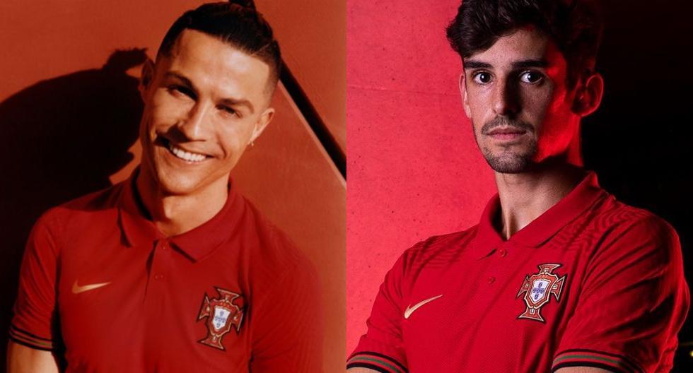 Portugal presentó nueva camiseta (Foto: Selección Portugal))