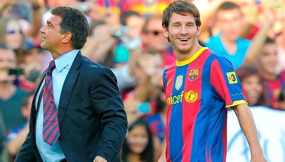 Joan Laporta fue presidente del Barcelona entre 2003 y 2010. (Foto: AFP)