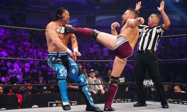 WWE   AEW: Bryan Danielson y Kenny Omega tuvieron lucha de ensueño en AEW Dynamite   Daniel Bryan   VIDEO   NCZD   FULL-DEPORTES   DEPOR
