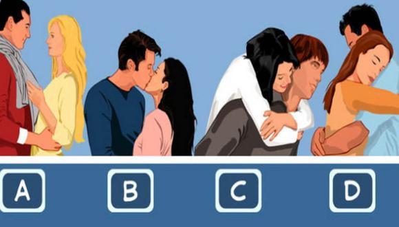 Elige el abrazo con el que más te identifiques y conoce los resultados del test de personalidad.   Foto: namastest