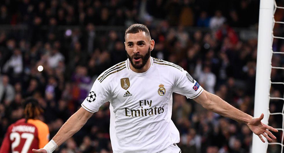 5. Karim Benzema - Real Madrid - 28 goles (AFP)