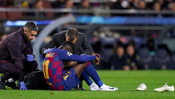 Ousmane Dembélé llegó al Barcelona en 2017 procedente del Dortmund. (Getty)