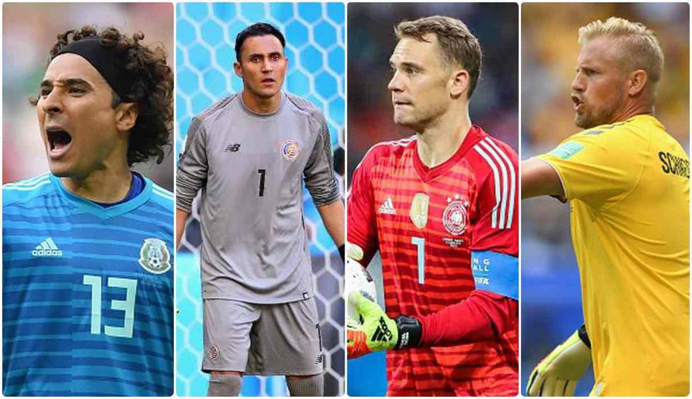 Figuras bajo los tres palos: Ochoa, Navas, Neuer y los arqueros con más atajadas en el Mundial Rusia 2018. [FOTOS]